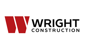 Wright Construction logo design by Toolkit Websites, Southampton