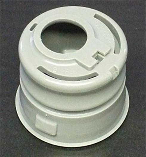 4 cavity hot runner injection mould tool with collapsing cores and side actions for Fuel Filler Insert in Delrin Acetal