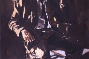Portrait of David Byers Brown -oil on canvas - 115 x 80 cm - nfs