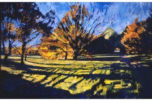 Wimbledon Common - oil on canvas - 90 x 135 cm -sold