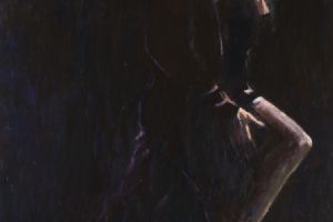 Tango Dancers - acrylic on board - 180 x 120 cm - sold