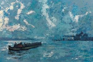 Venice Scene - Oil on Board - 90 x 137 cm - POA
