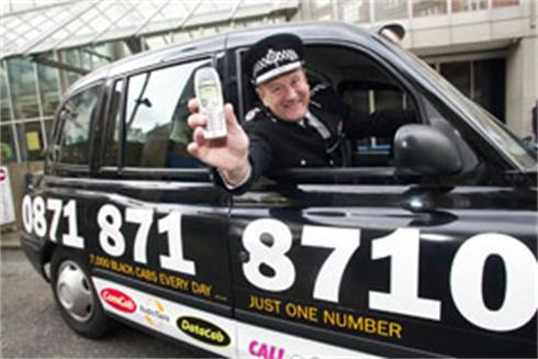 England , UK . London . 6.5.2004 .  Top cop calls on Londoners to dial one number for safety. Metropolitan Police Commissioner Sir John Stevens launches a new taxi booking servioe at New Scotland Yard today giving Londoners access to 7,000 safe & reliable black cabs every day on just one number - 0871 871 8710.Copyright cleared for immediate press publication free of charge.© Andrew Wiard  Tel: +44 (0) 20-8340-8855  Mobile: 07973-219 201. Credit required:  © Andrew Wiard/reportphotos.com .  All rights reserved . Moral rights asserted under Copyright Designs & Patents Act 1988 . No part of t