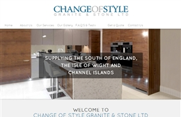 Change of Style Southampton website design case study