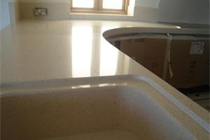 Silestone Worktops with Silestone Sink in Blanco Capri