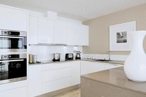 Silestone Quartz Work Tops used for a Dandara Development.
