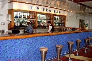 Riviera Bar on The Aurora.