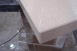 Silestone Blanco Capri with 60mm Fabricated Downstand