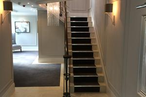 Flooring & Stairs recently completed for Alfred Homes.