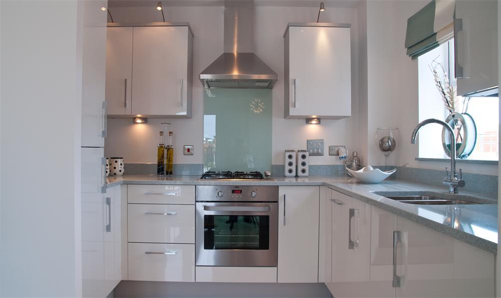 Kitchen Sink With Integrated Splashback
