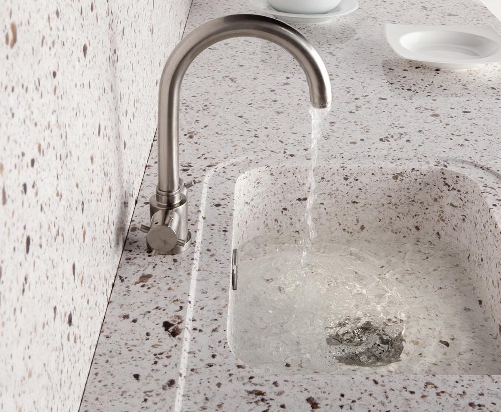 Silestone integrity sink with recess drainer - Undermounted Sink Belfast Butler Sink Silestone Integrity